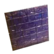 4 ft. ' X 4 '' TEXTURE TILE Heavy-duty 24 in. X 24 in. rigid stamp