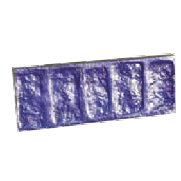 COBBLESTONE BORDER Heavy-duty rigid stamp 5 in. X 10 in.