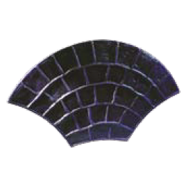 EUROPEAN COBBLESTONE Heavy-duty 26 in. X 46 in. rigid stamp